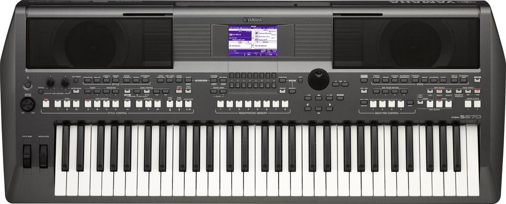 Синтезатор Yamaha PSR-S670: фото